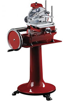 Flywheel slicer
